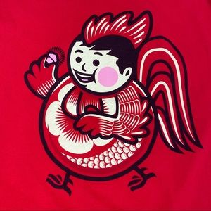 Johnny Cupcakes Chinese New Year Rooster T Shirt